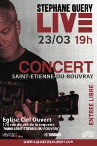 Concert Stéphane Quéry @ Eglise Ciel Ouvert | Saint-Étienne-du-Rouvray | Normandie | France