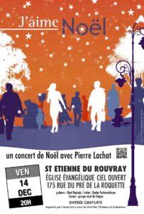 Concert de Noël avec Pierre Lachat @ Eglise Ciel Ouvert | Saint-Étienne-du-Rouvray | Normandie | France