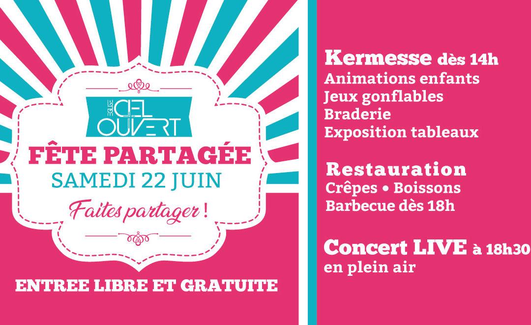 Kermesse «Fête partagée»