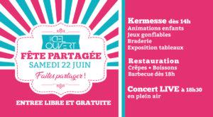 """Kermesse """"Fête partagée"""""""