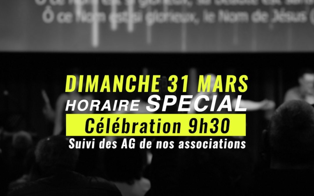 Célébration – 9H30
