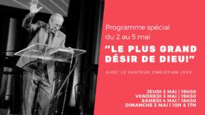 Réunion spéciale - Invité Christian Levy