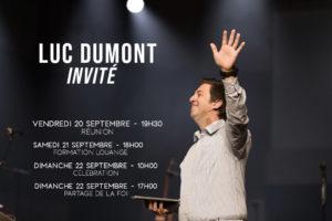 Réunion spéciale - Invité Luc DUMONT